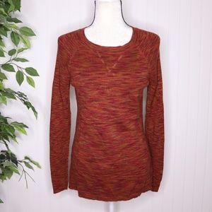 Relativity Marled Scoop neck Sweater Size Medium